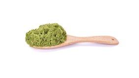 Globosa de Wolffia ou algue d'eau douce, repas de l'eau, algues de marais dessus Photo libre de droits