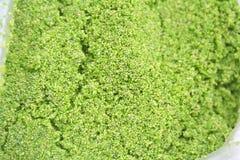 Globosa do Wolffia ou alga da água fresca, é a planta a menor, alimento local em Tailândia fotos de stock