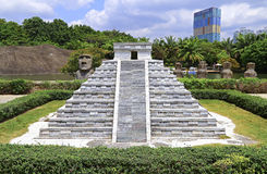 The globose of mexico : replica at shenzhen window of the world Royalty Free Stock Images