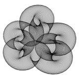 Globular. Abstract editable vector design element of circles Stock Image