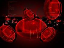 Globule sanguin illustration de vecteur