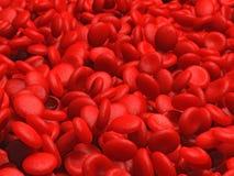 Globules rouges Illustration de Vecteur