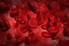 Globuli rossi Fotografia Stock
