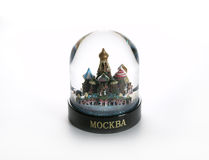 - globus śnieg Obrazy Royalty Free
