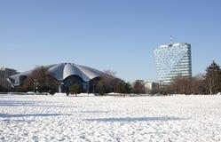Τσίρκο globus του Βουκουρεστι'ου Στοκ εικόνα με δικαίωμα ελεύθερης χρήσης