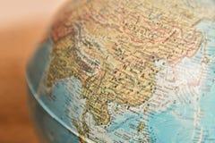 - globus azji Zdjęcia Royalty Free