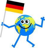 - globus bandery ilustracji