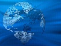 - globus cyfrowa Zdjęcie Stock