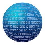 - globus cyfrowa royalty ilustracja