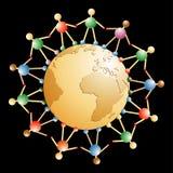- globus drewniana Fotografia Royalty Free