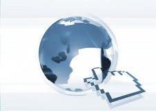 - globus internetu Fotografia Stock