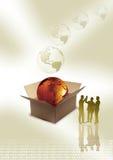 - globus jednostek gospodarczych Fotografia Stock