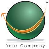 - globus logo Zdjęcia Stock