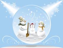- globus śnieg Zdjęcia Stock