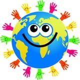 - globus podręcznej Fotografia Stock