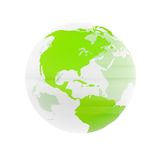 - globus przejrzysta Obrazy Stock