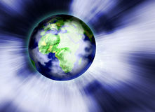 - globus tło Obraz Stock