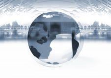 - globus tło Zdjęcia Royalty Free