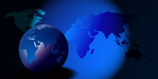 - globus świat Obraz Stock