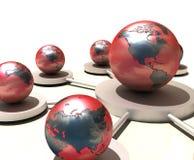 - globus świat Obrazy Royalty Free