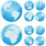 - globus świat Zdjęcia Stock