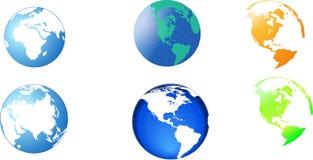 globus wizerunek ilustracja wektor