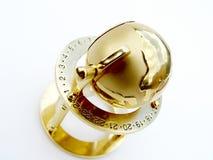 - globus złota fotografia royalty free