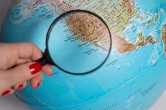 - globus ziemi Obraz Stock