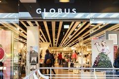 Globusu butik Obrazy Royalty Free