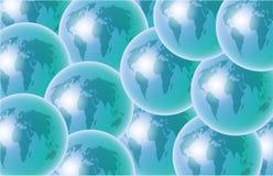 globusy ilustracji
