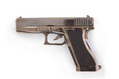 Glock 17手枪打火机 库存图片