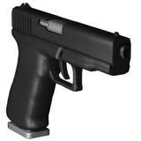 Glock 17 ilustração stock