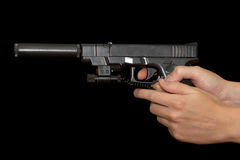 Glock 17 Stock Photo
