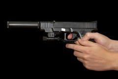 Glock 17 Foto de Stock