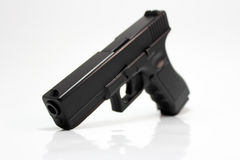 Glock 17 Handgun. 9mm Semiautomatic gun Stock Images