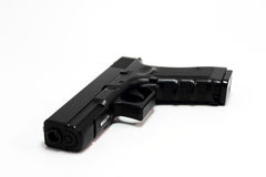 Glock 17 Handgun. 9mm Semiautomatic gun Stock Photo