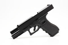 Glock 17 Pistole Lizenzfreie Stockfotografie