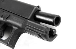 Glock 23, .40 caliber handgun Royalty Free Stock Photography