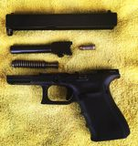 Glock 19 Foto de Stock Royalty Free