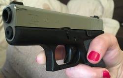 Glock 42 Royaltyfri Fotografi