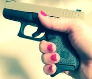 Glock 42 Arkivbilder