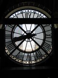 Glock de musée d'Orsay Images stock