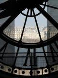 Glock de musée d'Orsay Photos stock
