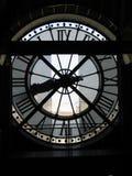 Glock del museo d'Orsay immagini stock