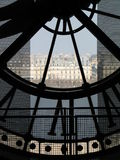 Glock van d'Orsay Museum Stock Foto's