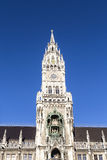 Glockenspiel στην πόλη του Μόναχου στοκ φωτογραφία