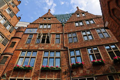 Glockenspiel at the Böttcher street in Bremen, Germany Royalty Free Stock Image