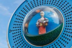 Glockenspiel clock in Uji District in Kyoto Royalty Free Stock Photography