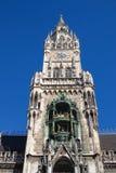 Glockenspiel at Marienplatz, Munich Germany Royalty Free Stock Images
