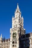 Glockenspiel at the Munich city Royalty Free Stock Photos